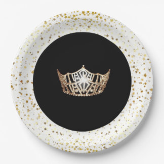 Miss America Pageant Party Paper Plates-Stars Paper Plate