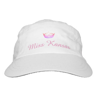 Miss America Pink Crown Baseball Cap