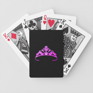 Miss America Purple Tiara Custom Playing Cards