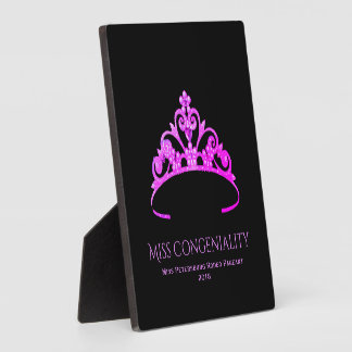 Miss America Rodeo Crown Congeniality Plaque