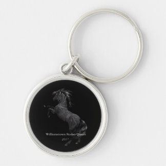 Miss America Rodeo Custom Horse Metal Key Chain