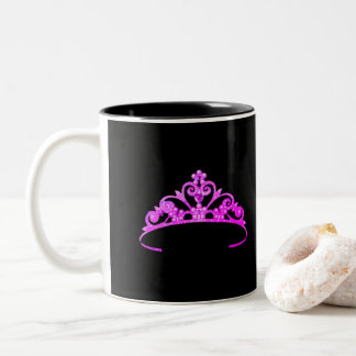 Miss America Rodeo Princess Fuchsia Crown  Mug