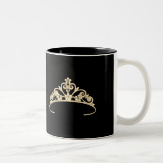 Miss America Rodeo style Gold Pageant Crown  Mug