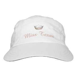Miss America Rose Quartz Crown Baseball Cap