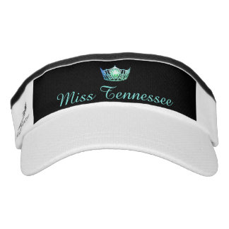 Miss America Sea Green Crown Visor  Hat