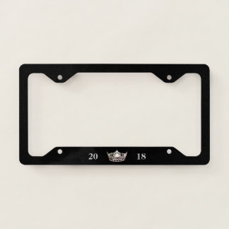 Miss America Silver Crown Date License Frame