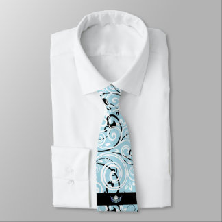 Miss America Silver Crown Men's Flourish Tie
