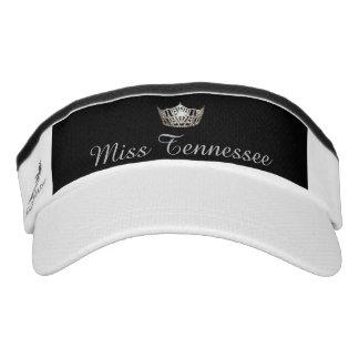 Miss America Silver Crown Visor  Hat