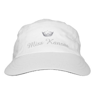 Miss America Silver Tone Crown Baseball Cap