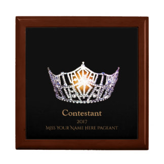 Miss America SLVR Crown Contestant Jewerly Box