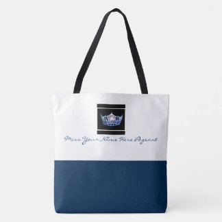 Miss America style Custom Color Crown Tote