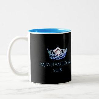 Miss America style Custom Name Blue Crown  Mug