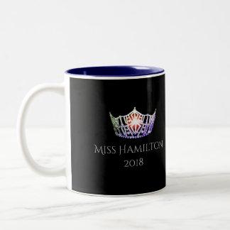 Miss America style Custom Name Multi Crown  Mug