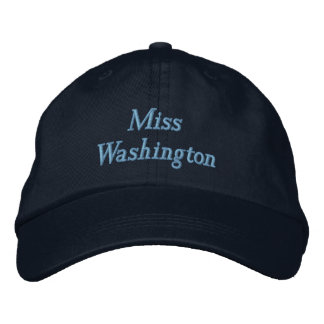 Miss America style Pageant Baseball Cap