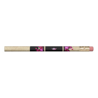 Miss America style Pink Crown Roses Pencil
