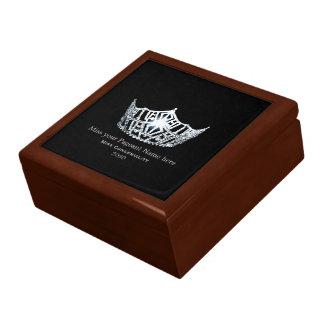 Miss America style Special Awards Trinket Box