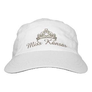 Miss America Taupe/BrownTiara  Baseball Cap