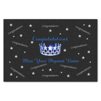 Miss America USA Congrats Custom Tissue Paper