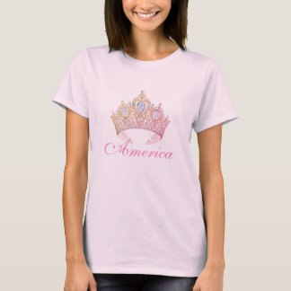 Miss America Women's Crown Top