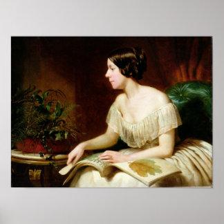 Miss Anne Pratt, the famous botanist Poster