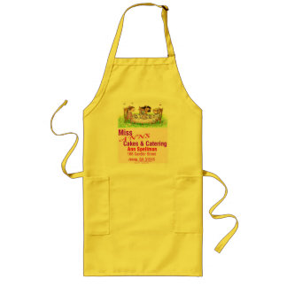Miss Anns Cakes Long Apron