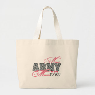 Miss Army Mom Large Tote Bag