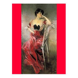 Miss Bell - Giovanni Boldini Postcard