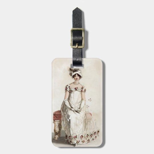 """Miss Bennet"" Luggage Tag"