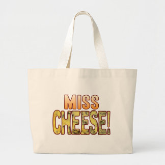 Miss Blue Cheese Large Tote Bag