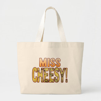 Miss Blue Cheesy Large Tote Bag