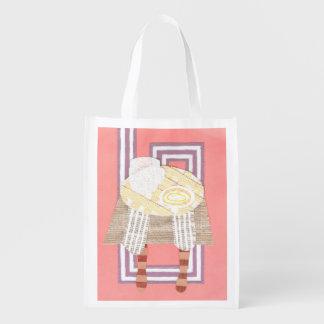 Miss Coffee Reusable Bag Reusable Grocery Bags