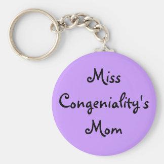 Miss Congeniality's Mom Keychain