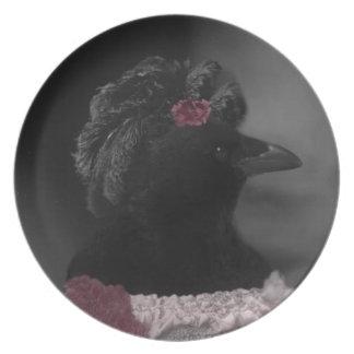 Miss Crow Plate