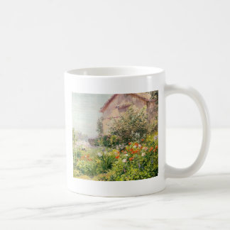 Miss Florence Griswold's Garden Classic White Coffee Mug