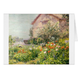 Miss Florence Griswold's Garden Greeting Card