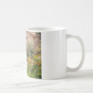 Miss Florence Griswold's Garden Basic White Mug