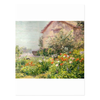 Miss Florence Griswold's Garden Postcard