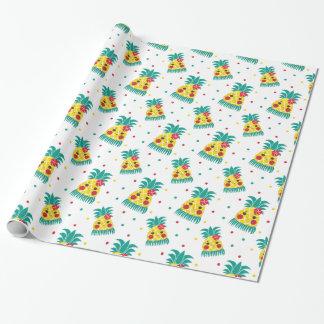 Miss Hawaiian Pineapple Wrapping Paper