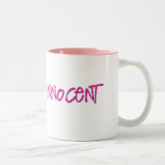 miss innocent Two-Tone coffee mug