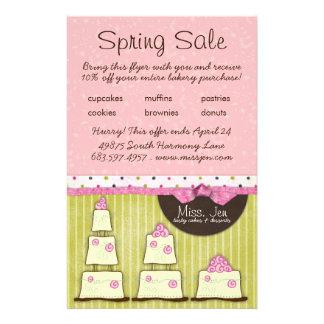 Miss. Jen Cake Small Sale Flyer