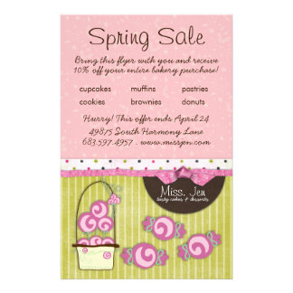 Miss. Jen Candy Small Sale Flyers