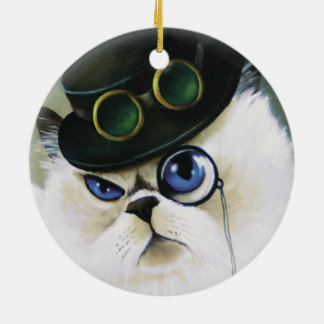 Miss Kitty Bartholomew Ceramic Ornament