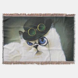 Miss. Kitty Bartholomew Throw