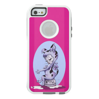 MISS KITTY CARTOON  Apple iPhone SE/5/5s  CS WHITE