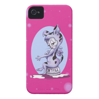 MISS KITTY CAT CARTOON iPhone 4    B T iPhone 4 Case-Mate Case
