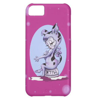 MISS KITTY CAT CARTOON iPhone 5C   B T Case For iPhone 5C