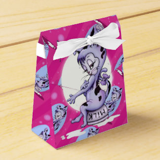 MISS KITTY CUTE CARTOON Tent with Ribbon Favor Box