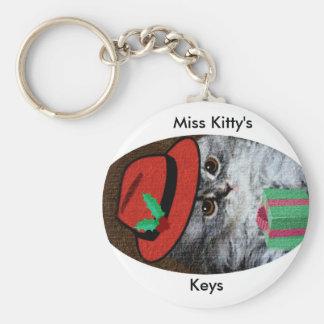Miss Kitty Keychain