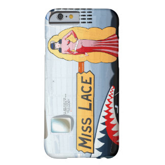 Miss Lace B-24 Nose Art (Vintage Fuselage) Barely There iPhone 6 Case