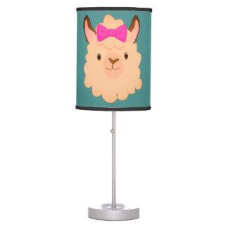 Miss Llama Lamp
